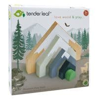 Tender Leaf Wooden Mountain Pass Stack